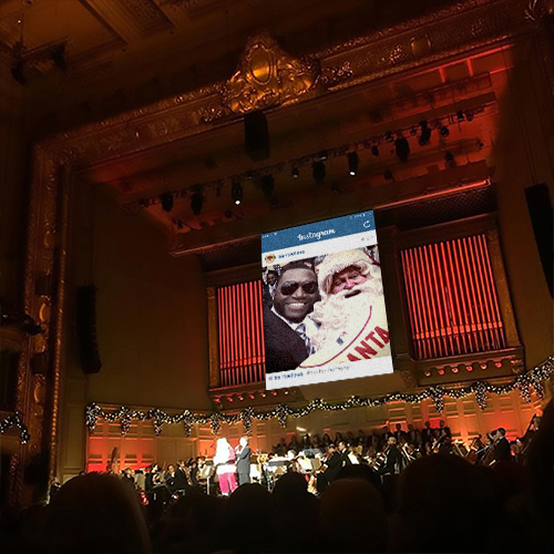 Boston Symphony Orchestra projection design